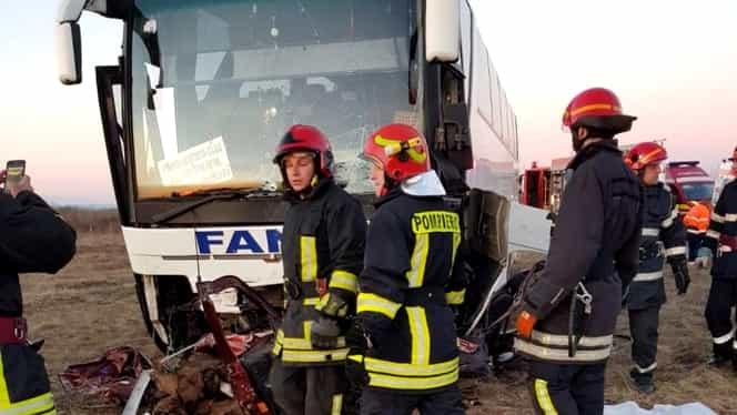 Accident deosebit de grav lângă Timișoara. O persoană a murit și alte cinci sunt rănite