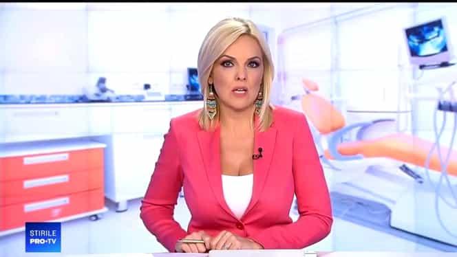 Oana Andoni înlocuită la pupitrul știrilor Pro TV de Amalia Enache. Prezentatoarea TV urmează să nască