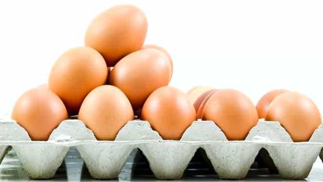 VIDEO. Ouă expirate, vopsite pentru a ascunde data expirării! Se întâmplă la un magazin cu prestigiu!