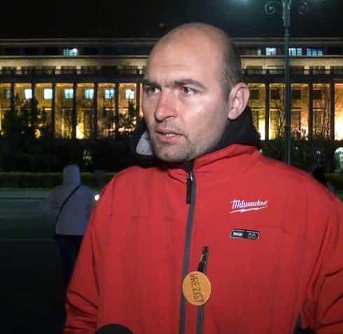 Protestatarul Cristian Mihai Dide, reacție după ce o jandarmeriță a fost omorâtă pe trecerea de pietoni