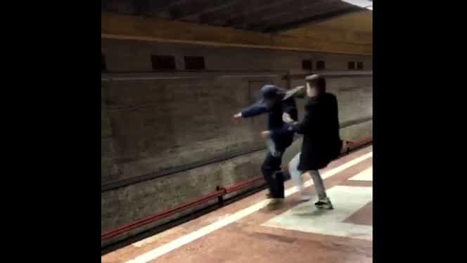 Eroul de la Metrou: Ștefan Lefter a salvat de la moarte un om la Piața Sudului! Video