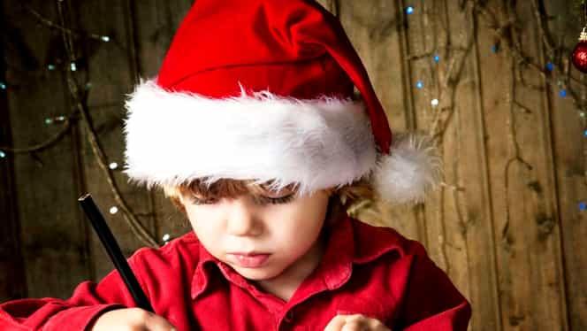 Scrisoare către Moș Crăciun: ce dorințe au copiii români anul acesta