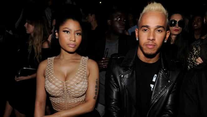 Cântăreața Nicki Minaj şi Lewis Hamilton sunt împreună?