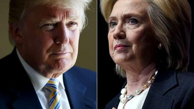 ALEGERI SUA. Hillary Clinton a cîştigat prima confruntare cu Donald Trump