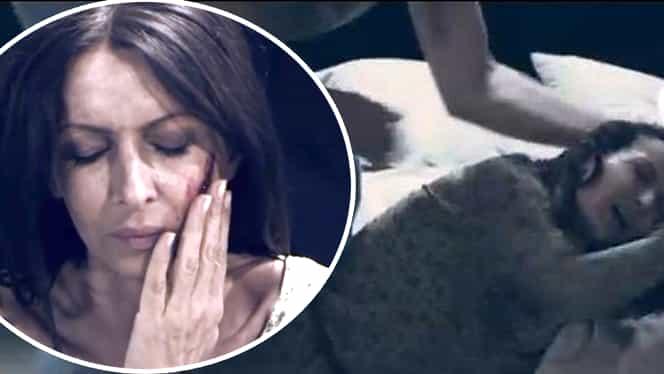 Mihaela Rădulescu, BĂTUTĂ CRUNT de un celebru actor! Imagini teribile cu vedeta cu sîngele şiroindu-i pe obraji