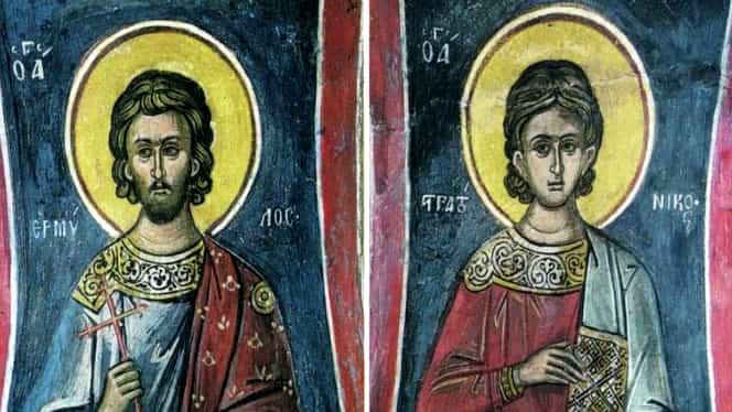 Calendar ortodox: luni, 13 ianuarie 2020. Sfinții Mucenici Ermil și Stratonic