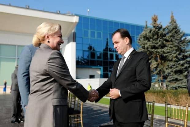 """Ludovic Orban a comparat-o pe Viorica Dăncilă cu Nicolae Ceaușescu! """"Mai era unul care dădea 100 de lei"""""""