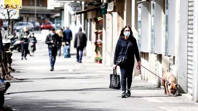 Chiar dacă în Italia numărul persoanelor moarte de coronavirus a ajuns la 1000 pe zi, autorităţile medicale informează că încă nu s-a atins vârful epidemiei