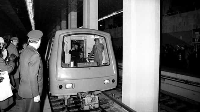 16 noiembrie, semnificaţii istorice! Metroul din Bucureşti, testat pentru prima dată!
