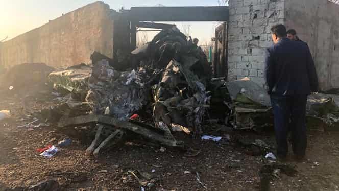 MAE, prima reacție după tragedia aviatică din Iran! 176 de oameni și-au pierdut viața
