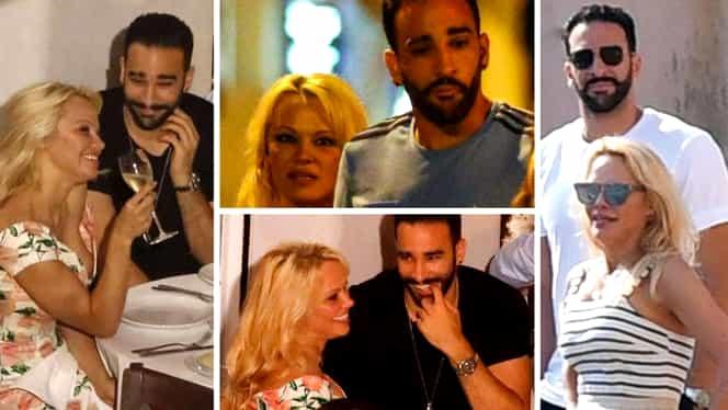 Pamela Anderson s-a despărțit de fotbalistul Adil Rami! Motivul separării