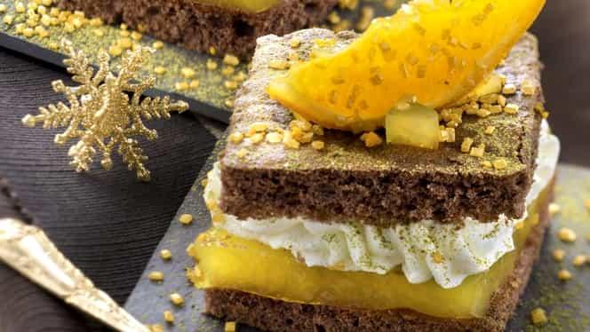 Rețeta zilei de 24 noiembrie. Cum să prepari cea mai bună prăjitură cu cremă de portocale