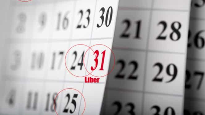 Zile libere în 2018! Românii se vor bucura anul viitor de 11 zile libere, care cad în cursul săptămânii