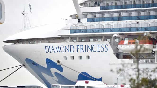 Au murit doi pasageri de pe nava de croazieră Diamond Princess! Doi români aflați pe același vas, confirmați cu coronavirus