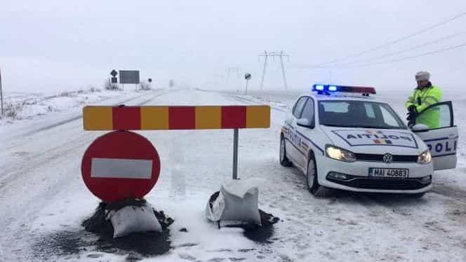 Urgia albă a blocat 8 drumuri judeţene şi a lăsat 71 de localităţi fără electricitate