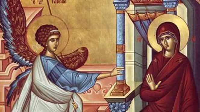 Care este semnificația sărbătorii creștine Buna Vestire