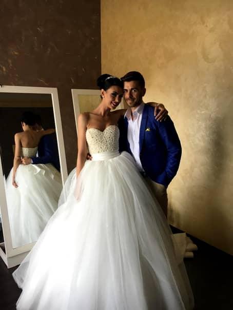 """DINAMO. FOTO. Nuntă în """"haită""""! Un dinamovist s-a căsătorit!"""