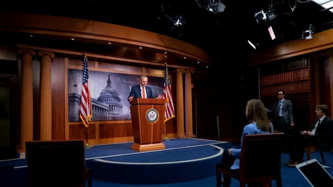 Imbold financiar istoric în SUA pe timp de pandemie: Senatul a aprobat 2 trilioane de dolari pentru economia țării