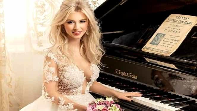 Cum arată rochia de mireasă a Andreei Bălan. A pregătit trei ţinute pentru nuntă. Foto