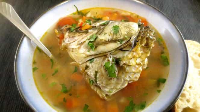 Trei rețete de ciorbă de pește. Poți să le mânânci chiar și reci