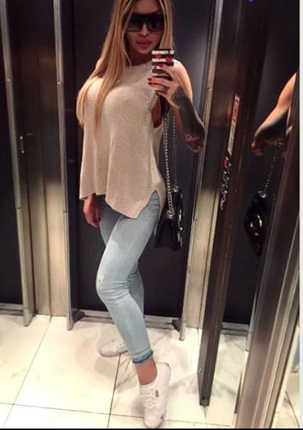Ea e Daniela, sosia Biancăi Drăgușanu, tânăra care l-a înnebunit pe Victor Slav! Imagini incendiare