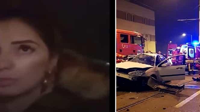 O tânără de 25 de ani a murit în urma unui accident rutier în Craiova, pe care l-a transmis live pe Facebook – Video