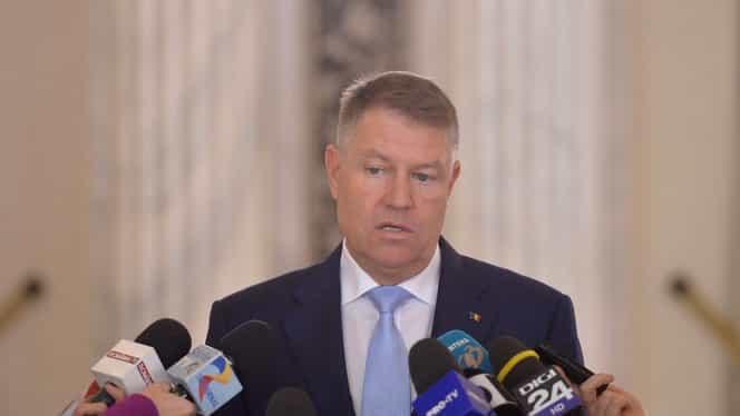 """Președintele Klaus Iohannis nu este de acord cu reducerea TVA: """"Să scădem TVA de azi pe mâine nu mi se pare un lucru bun"""" VIDEO"""