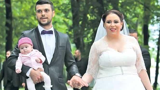 Oana Roman a îmbrăcat rochia de mireasă la care a visat de mică, abia la 4 ani de la nuntă