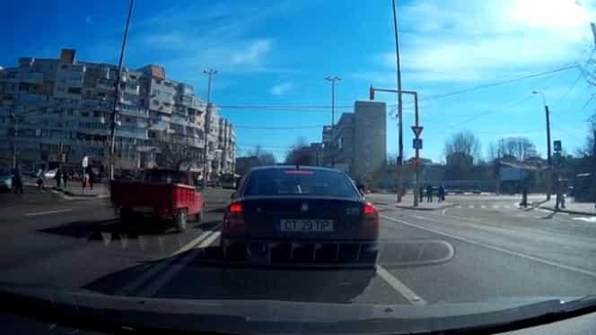 Poliția ar putea amenda șoferii filmați de alți participanți la trafic în timp ce încalcă legea