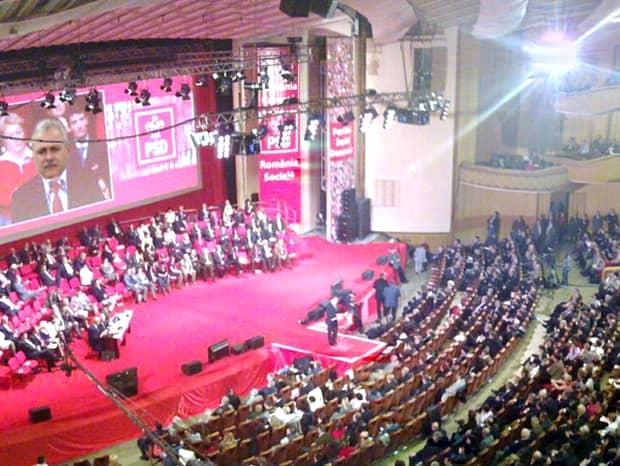 Cum au lăsat social-democraţii Sala Palatului, după Congresul extraordinar al PSD! Mizerie cruntă!