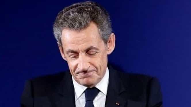 Fostul preşedinte, Nicolas Sarkozy, în arest! Acuzat că a primit 50 de milioane de euro