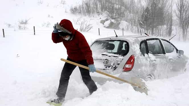 Ninsorile abundente revin în România. Unde se va depune strat gros de zăpadă. Anunțul meteorologilor