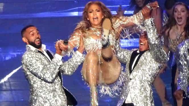 Jennifer Lopez a comis gafa carierei pe scenă, la ultimul concert! Lenjeria intimă a cedat şi… UPS!!!!