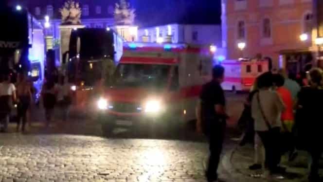 Un nou atentat în Germania: Un mort şi 12 răniţi după ce un migrant sirian-kamikaze s-a detonat lîngă Nurnberg