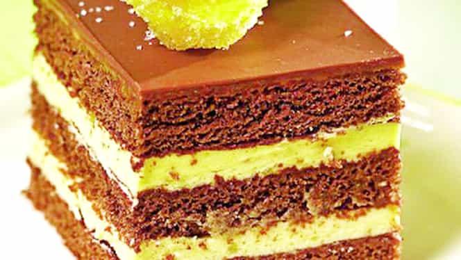 Rețeta zilei. Cum să prepari cea mai bună prăjitură cu ciocolată și vanilie