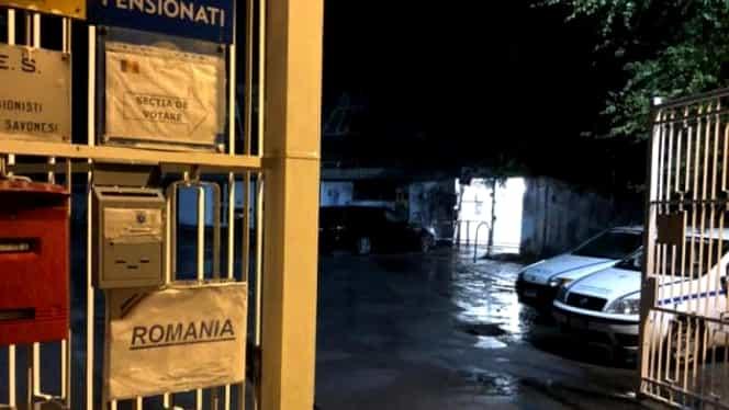 Alegeri prezidențiale, turul 2. Codul roșu de inundații din Italia a mutat o secție de votare