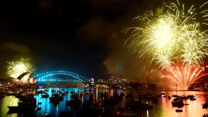 VIDEO. ANUL NOU în jurul lumii! Focuri de artificii de senzaţie la New York, Dubai, Londra sau Sydney