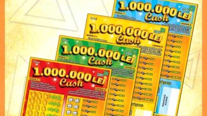 """Loteria Română vine cu un nou loz de Sărbători! """"1.000.000 lei cash"""" a fost pus deja în vânzare"""