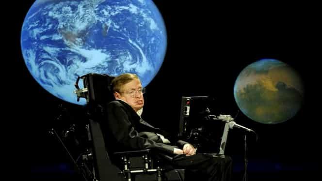 Ultimul avertisment al lui Stephen Hawking. Când va veni sfârşitul lumii