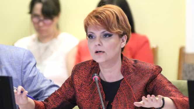 """Lia Olguţa Vasilescu, fără milă! Atac dur la Violeta Alexandru, noul ministru al Muncii: """"De câte ori deschide gura, se face de râs"""""""