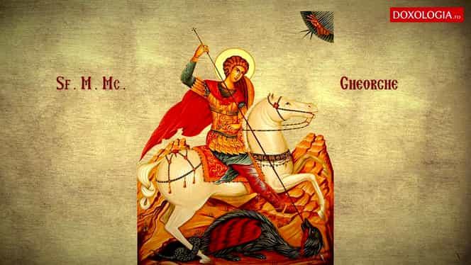 Sfântul Gheorghe, sărbătoare mare pe 23 aprilie. Ce e păcat să faci în această zi