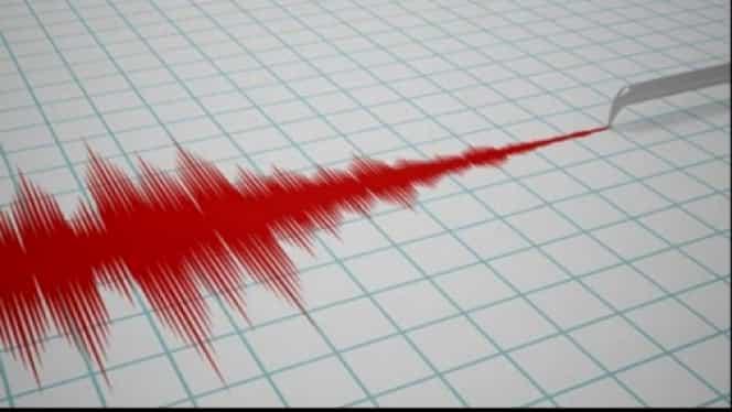 Cutremur de 3,8 grade pe scara Richter în județul Vrancea. Seismul s-a produs la o adâncime de 170 de kilometri