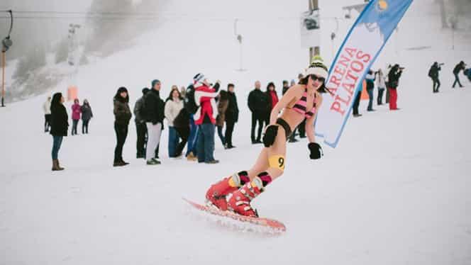 GALERIE FOTO / Miss Bikini pe schiuri şi-a desemnat cîştigătoarea