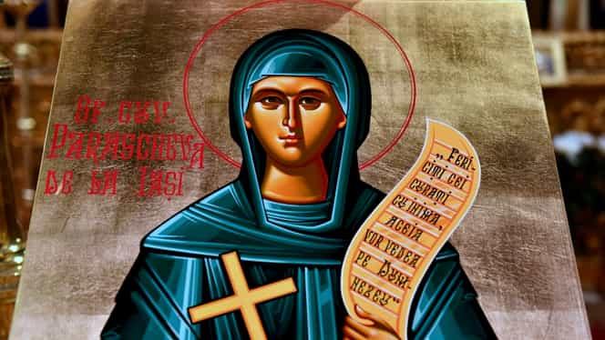 3 lucruri pe care e bine să le dai de pomană astăzi, de Sfânta Parascheva