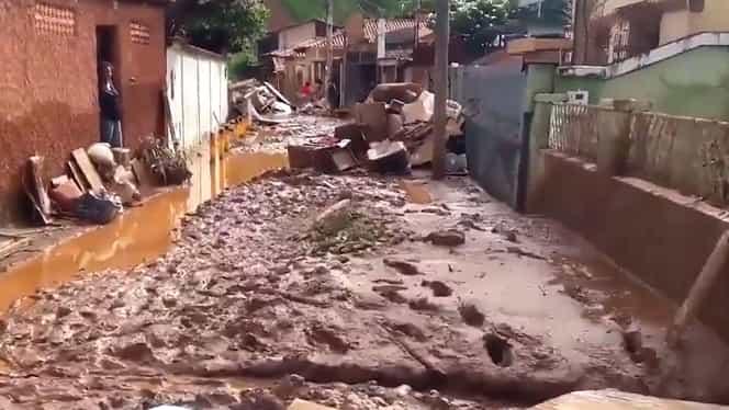 Potop în Brazilia. Inundațiile au făcut ravagii în partea de sud-est a țării: peste 50 de morți, zeci de dispăruți și mii de sinistrați – Video