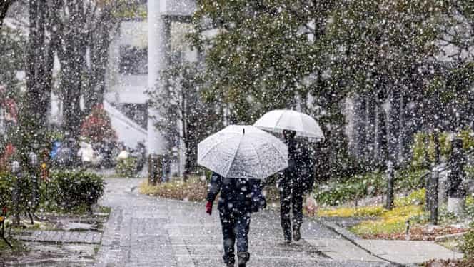 Prognoza meteo. Un nou val de aer polar pune stăpânire pe România. Unde sunt aşteptate ninsori