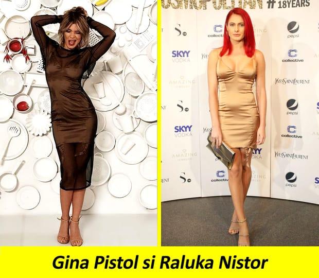 Oups! Eroare! Vedete din România îmbrăcate la fel pe covorul roșu