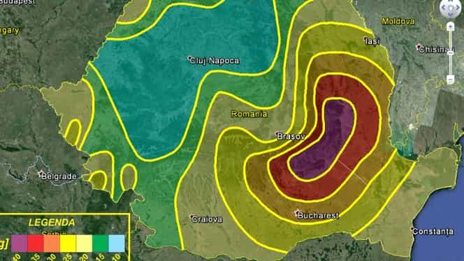 Cutremur în Buzău, vineri dimineața. Ce magnitudine a avut seismul