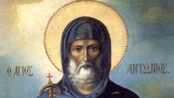 Calendar ortodox 17 ianuarie: Părintele Antonie cel Mare