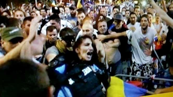 Jandarmerița bătută în Piața Victoriei a avut halucinații! Mărturii cutremurătoare!